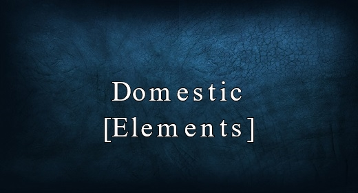 Domestic [Elements]