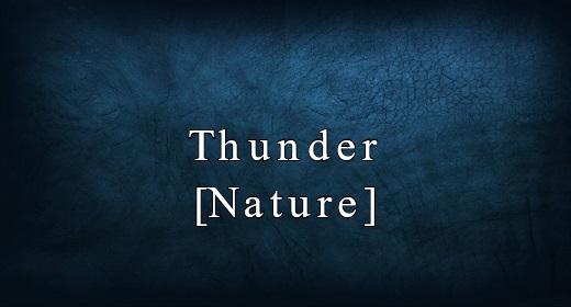 Thunder [Nature]