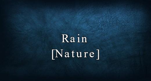 Rain [Nature]