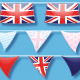 Union Jack Bunting Brushes and Ready-Made Objects