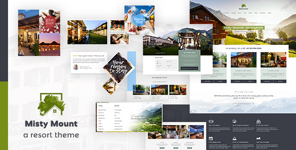 Mount Resort & Hotel WordPress