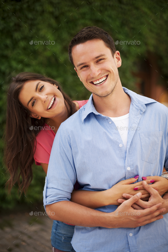 Spending happy time with my love - Stock Photo - Images