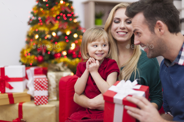 Daddy please, say that this one is for me - Stock Photo - Images