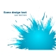 Blue paint splashes background. Vector illustratio - GraphicRiver Item for Sale