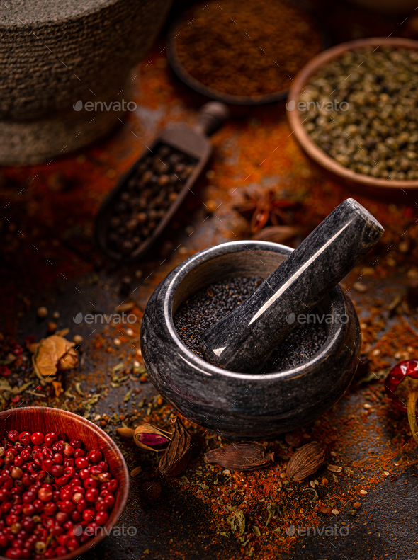 Spices concept - Stock Photo - Images