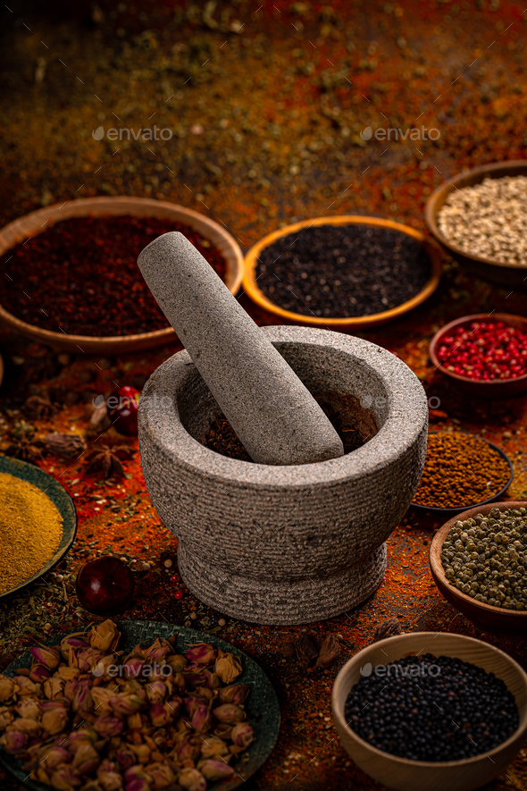 Spice still life - Stock Photo - Images