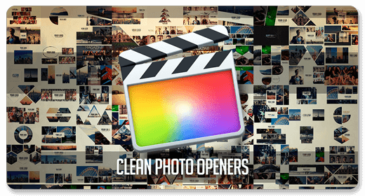 Clean Photo Openers | Final Cut Pro X Templates