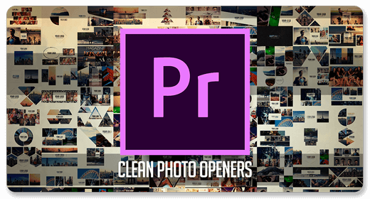 Clean Photo Openers | Premiere Pro Templates