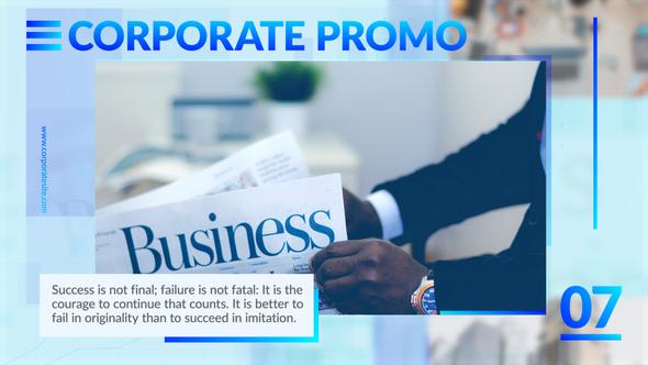 Corporate Promo Opener Download