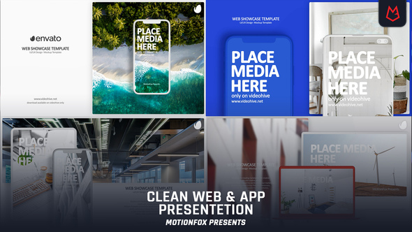 Clean App & Website Presentation Download