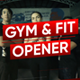Gym & Fit Opener - VideoHive Item for Sale