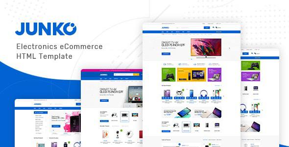 Junko - Electronics eCommerce HTML Template by HasTech