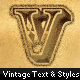 Rugged Vintage Text + Styles - GraphicRiver Item for Sale