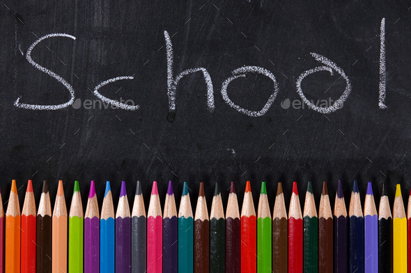 School Education and Office Tools - Stock Photo - Images