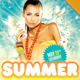 Summer Wet Party Flyer - GraphicRiver Item for Sale