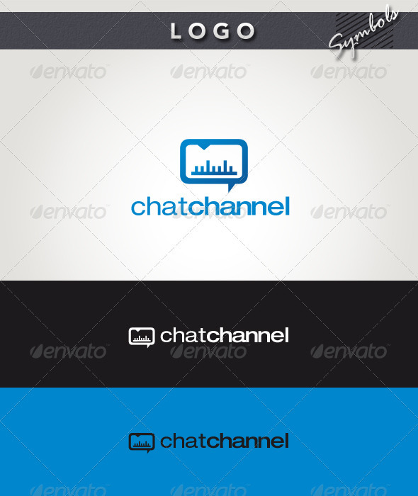 Chat Channel Logo - Symbols Logo Templates