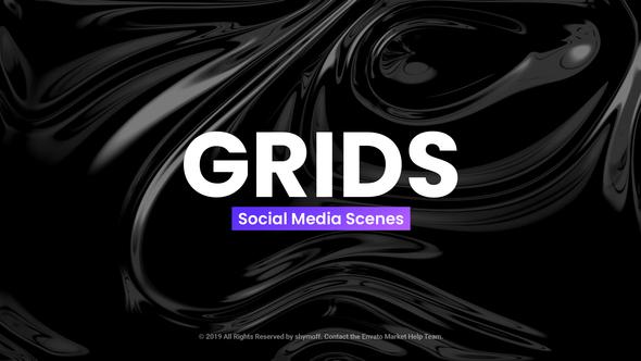 Grids - Social Media Scenes Download Free
