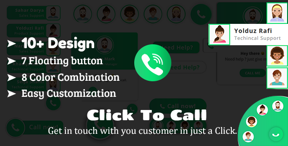 Share codecanyon Click To Call - Direct Call From Website HTML Plugin