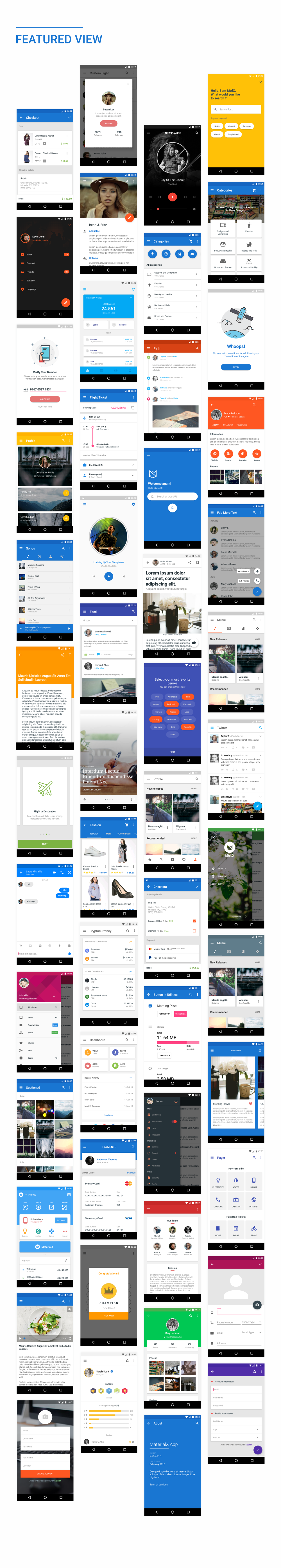 MaterialX - Android Material Design UI Components 2.5 - 33