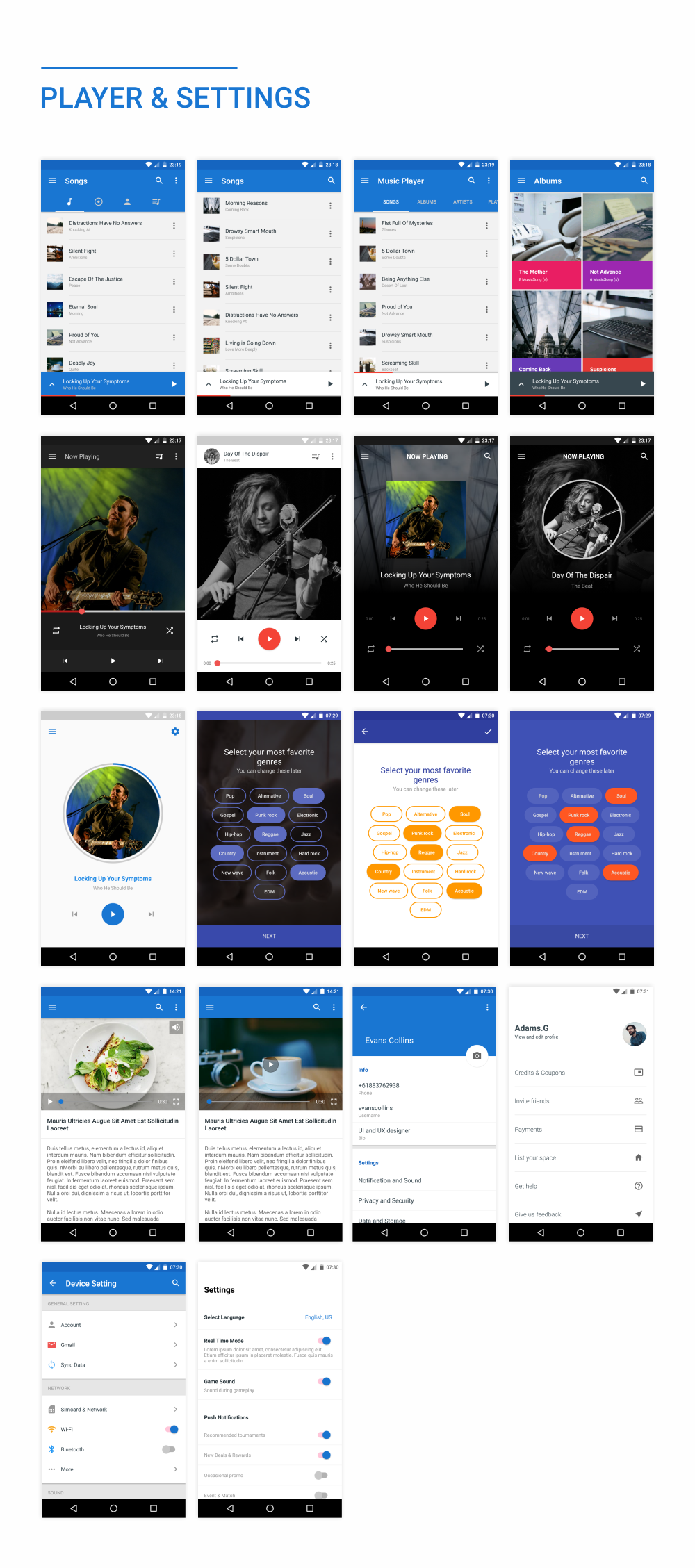 MaterialX - Android Material Design UI Components 2.5 - 43