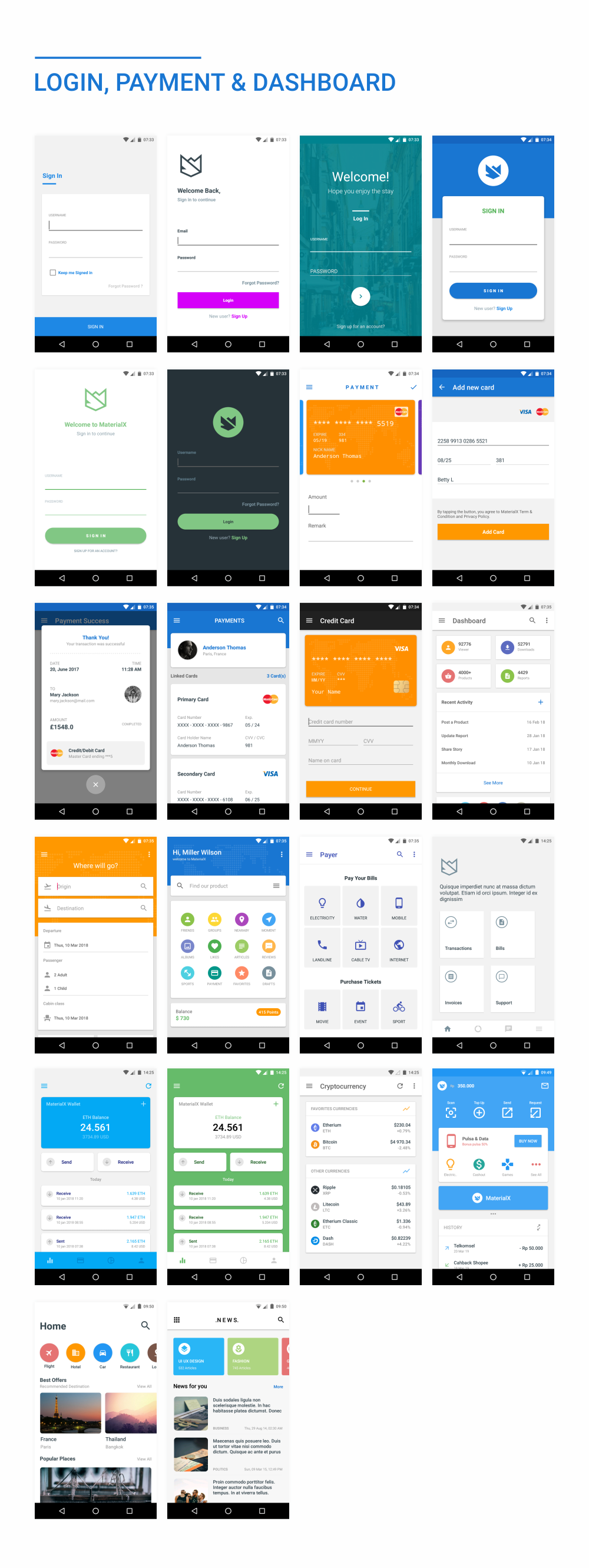 MaterialX - Android Material Design UI Components 2.5 - 46