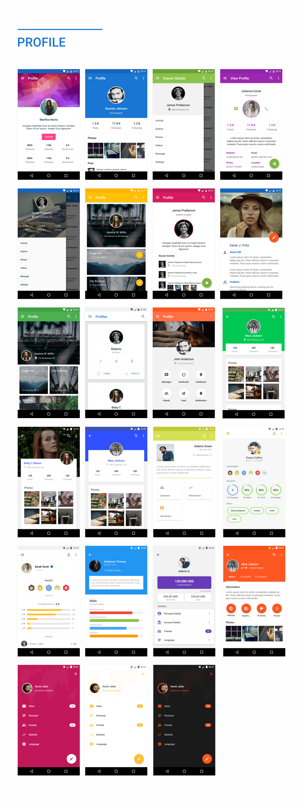 MaterialX - Android Material Design UI Components 2.5 - 47
