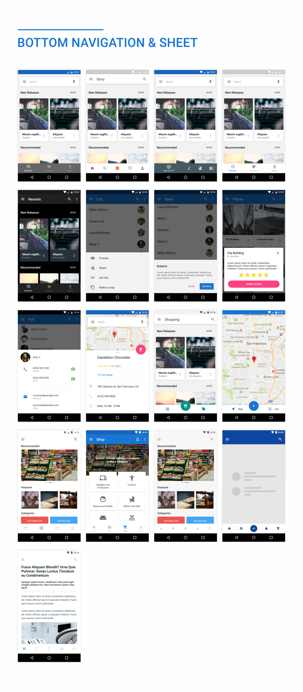 MaterialX - Android Material Design UI Components 2.5 - 34