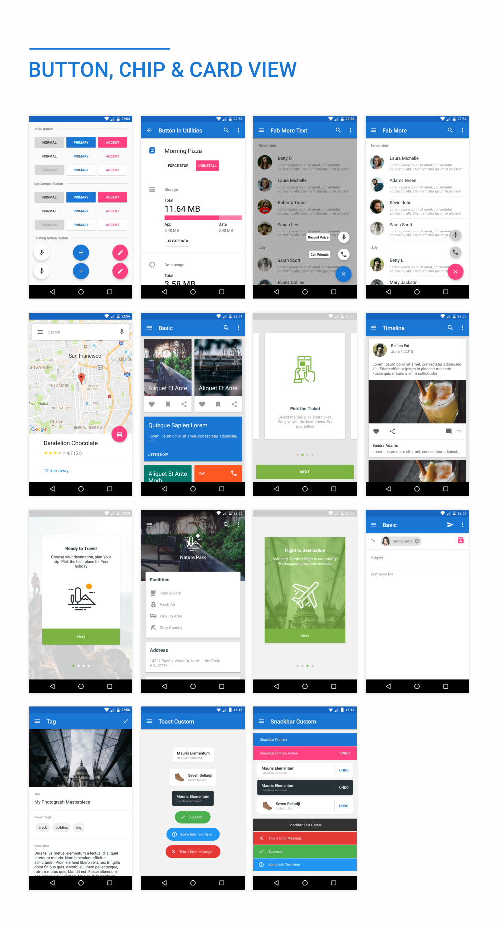 MaterialX - Android Material Design UI Components 2.5 - 35