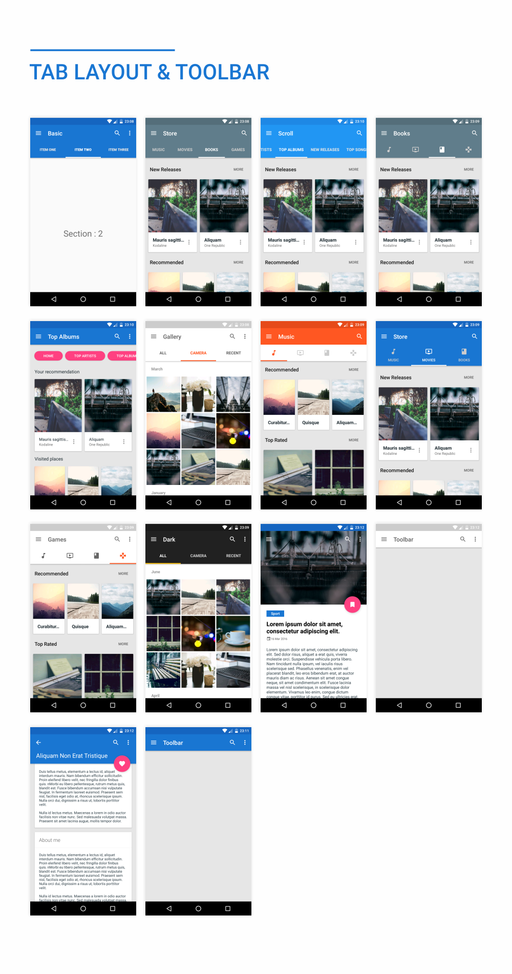 MaterialX - Android Material Design UI Components 2.5 - 40