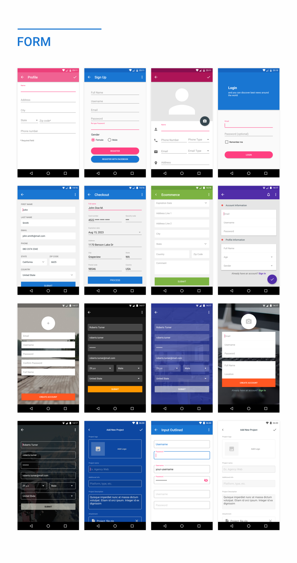 MaterialX - Android Material Design UI Components 2.5 - 41