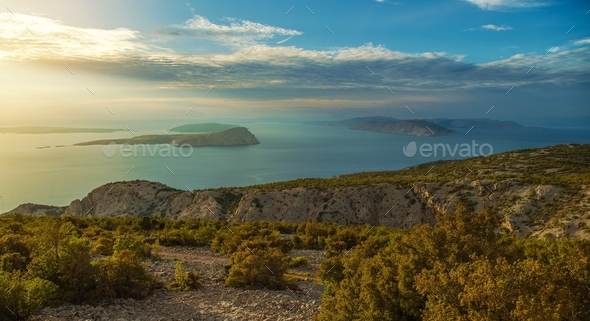 Croatian Scenic Landscape - Stock Photo - Images
