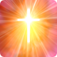 Holy Cross with Heavenly Light - Red - VideoHive Item for Sale
