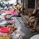 Female vendor at Maeklong market - PhotoDune Item for Sale