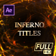 Inferno Ember Fire Titles - VideoHive Item for Sale