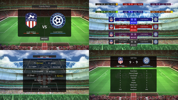 Football Soccer Broadcast Pack Download Free