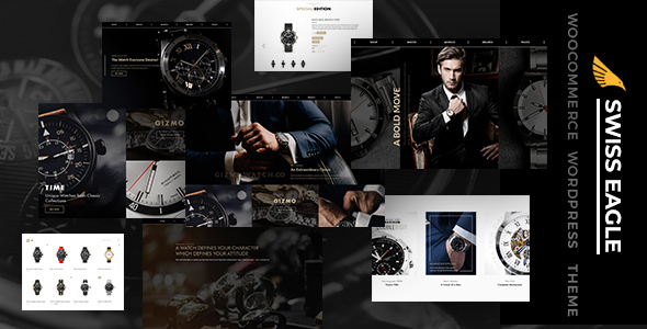 SwissEagle - Watch Store WordPress Theme