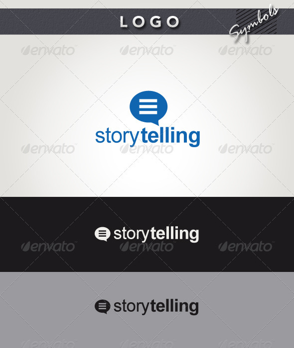 Story Telling Logo - Symbols Logo Templates