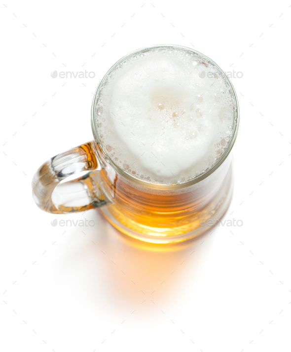 Mug of beer - Stock Photo - Images