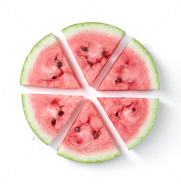 Ripe watermelon fruit - Stock Photo - Images