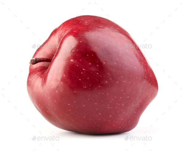 ripe red apple - Stock Photo - Images