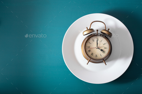 concept of intermittent fasting, ketogenic diet, weight loss. al - Stock Photo - Images