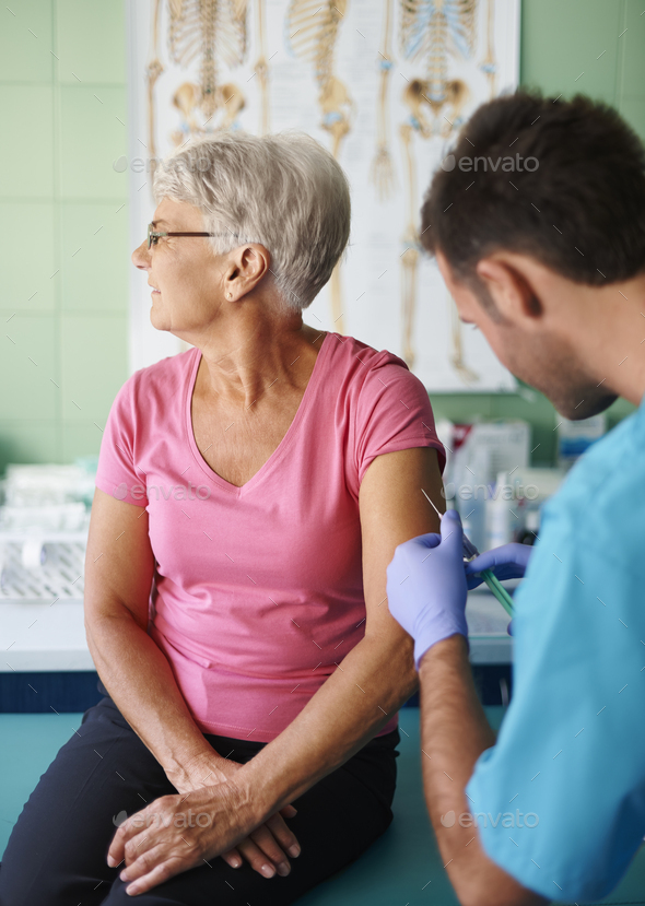 I really can't stand injections - Stock Photo - Images