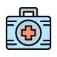 Set Of Pharmacy And Medications Line Icons. Pack Of 64x64 Pixel Icons