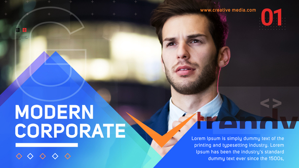 Modern Corporate Slideshow Download Free