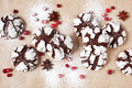 Chocolate Crinkle Cookies and Berries - PhotoDune Item for Sale