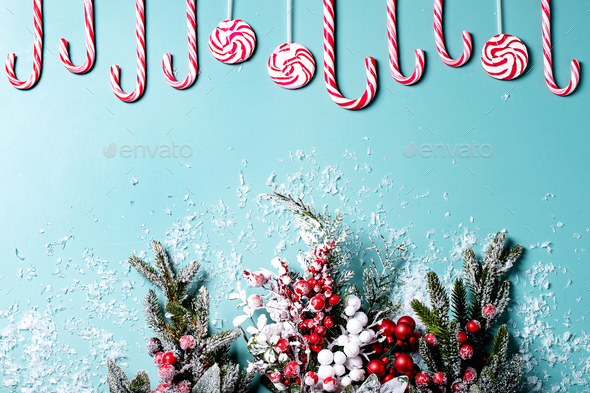 Traditional Christmas candy - Stock Photo - Images
