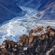 Dhankar monastry perched on a cliff in Himalayas, India - PhotoDune Item for Sale