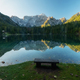Early autumn morning at the Fusine Lake - PhotoDune Item for Sale