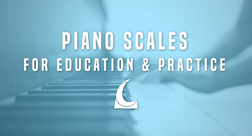 Piano Scales for Education and Practice