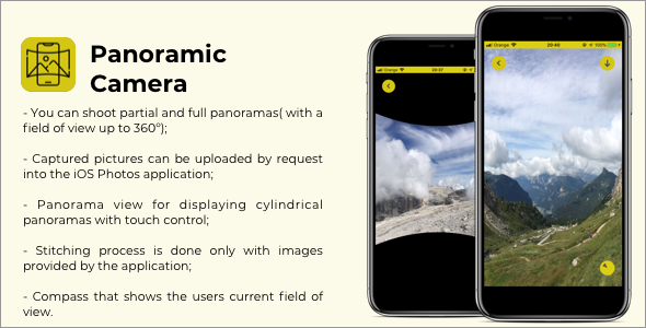 Panoramic Camera - iOS Application